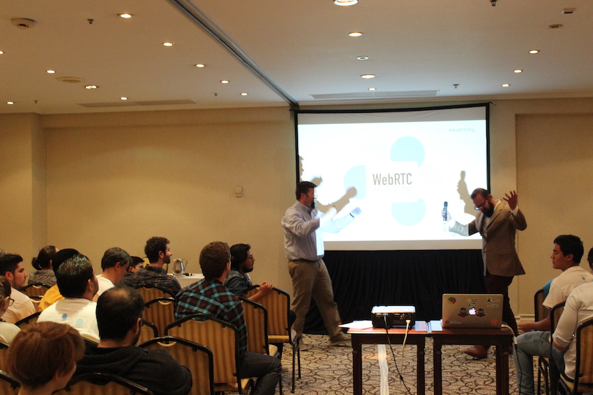 Arin Sime and David Alfaro discuss the future of WebRTC at WebRTC Argentina