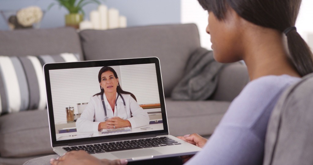 Secure video chat between a patient and their doctor