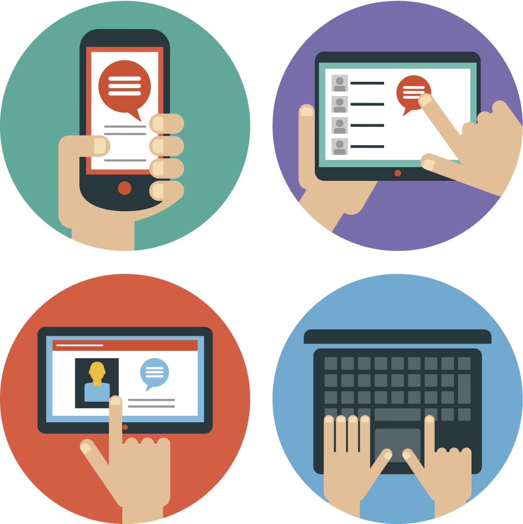 webrtc tablet, laptop and smart phone