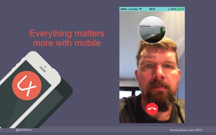 WebRTC mobile application example