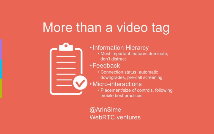 WebRTC is more than just a video tag