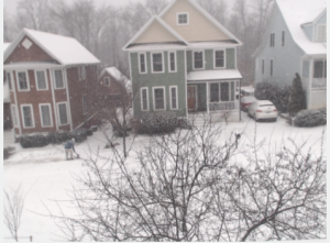 The Snowpocalypse cam is working!
