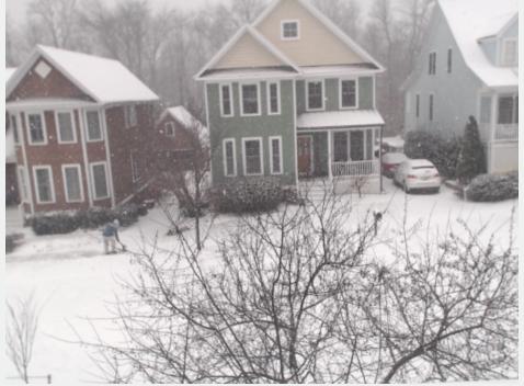 The Snowpocalypse cam is working!