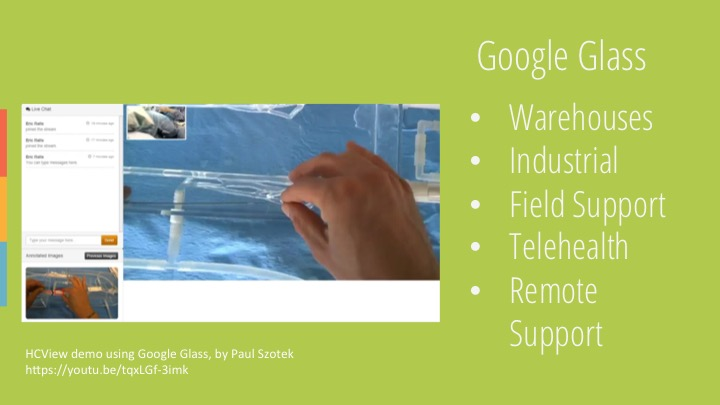 Google Glass use cases