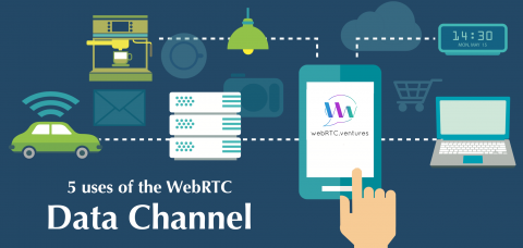5 uses of the WebRTC Data Channel