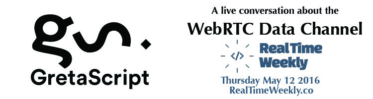 Check out our webinar with Greta.io about the WebRTC Data Channel