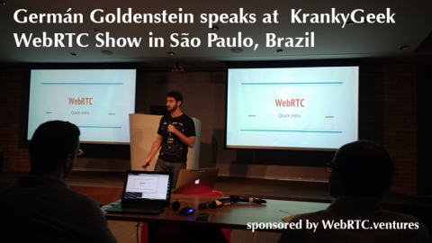 WebRTC Talks Summary and Videos from Kranky Geek Brazil
