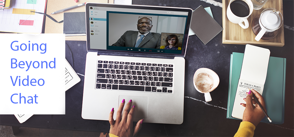Going beyond just video chat in WebRTC apps