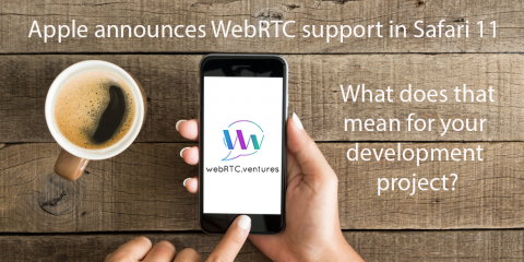 WebRTC support in Safari 11