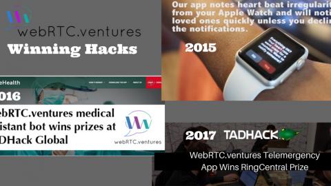 WebRTC.ventures Winning Telecom Application TADHacks – From an Apple Watch App to a Virtual Triage…