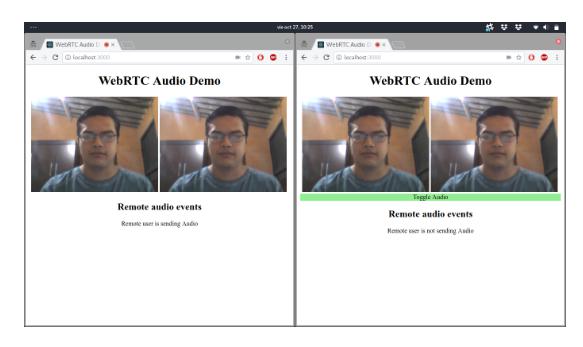 Can You Hear Me Now?    A WebRTC Audio Demo