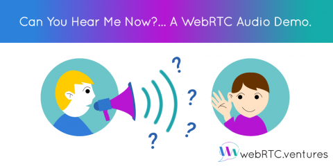 Can You Hear Me Now?… A WebRTC Audio Demo.