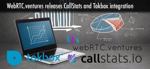 WebRTCventures open sources callstats.io/Tokbox integration