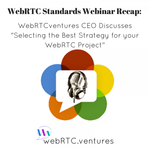 "[WebRTC Standards Webinar Recap] WebRTCventures CEO Discusses ""Selecting the Best Strategy for your WebRTC Project"""