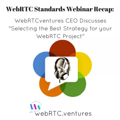 """[WebRTC Standards Webinar Recap] WebRTCventures CEO Discusses """"Selecting the Best Strategy for your WebRTC Project"""""""