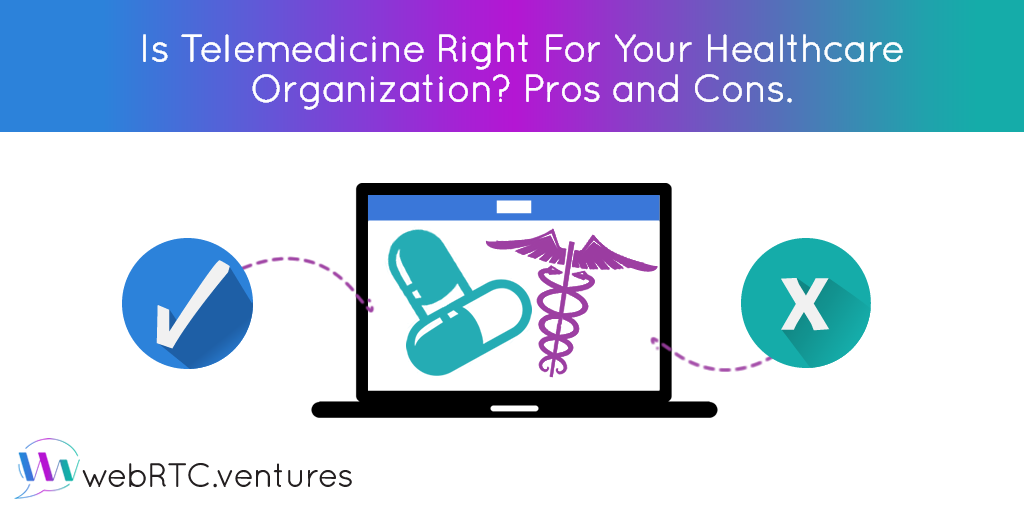 Is Telemedicine Right For Your Organization? Pros and Cons.