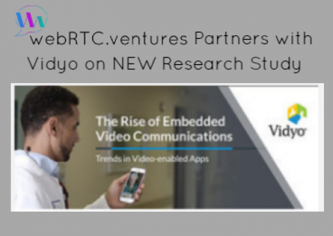 WebRTC.ventures Partners with Vidyo on a NEW Research Study: Highlighting Key Trends in Embedded Video Adoption!