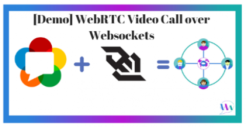 [Demo] WebRTC Video Call over Websockets