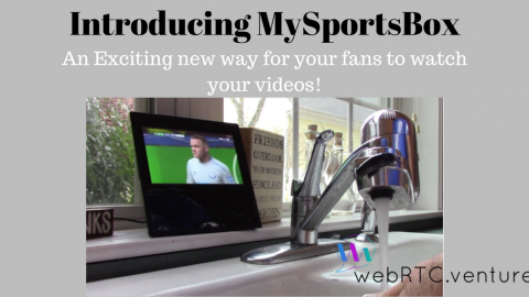 Introducing MySportsBox – a new way to distribute sports video content.