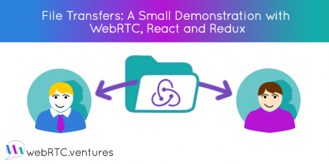 File Transfers: A Small Demonstration with WebRTC, React and Redux