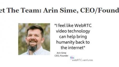 Meet the Team: Arin Sime, CEO & Founder of WebRTC.ventures