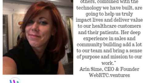 WebRTC.ventures Hires Ginger Germani as its Director of Telehealth Accounts