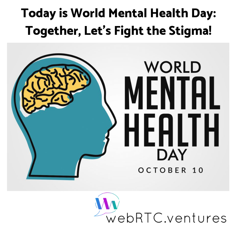 Today Is World Mental Health Day Together Let S Fight The Stigma