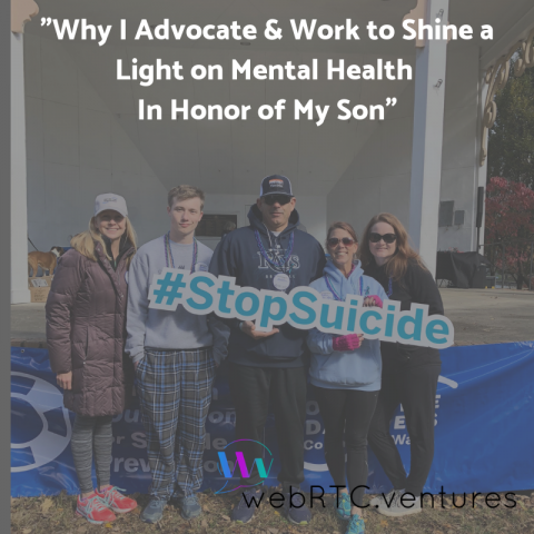 "Ginger Germani: ""Why I Advocate & Work to Shine a Light on Mental Health In Honor of My Son"""