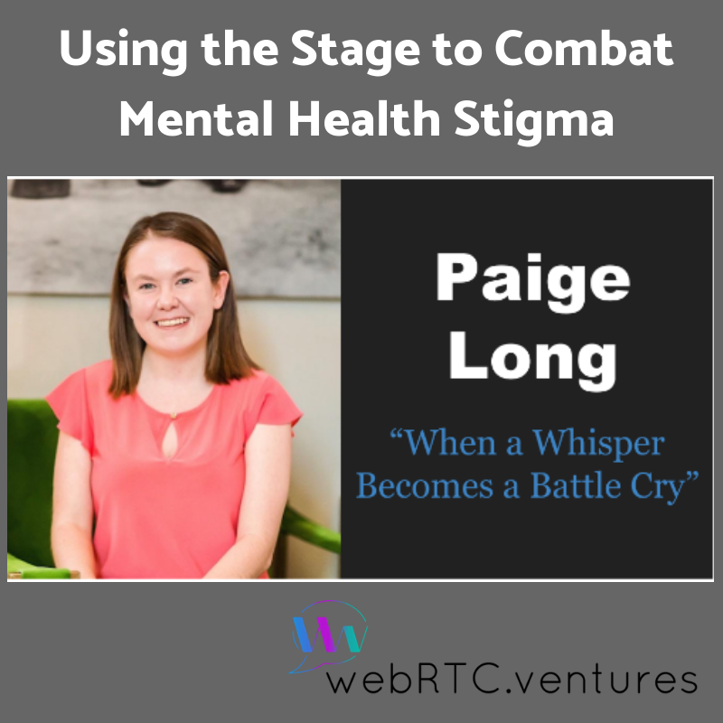 Using The Stage To Combat Mental Health Stigma