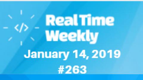 January 14th RealTimeWeekly #263