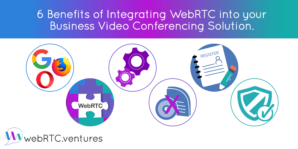 6 Benefits of Integrating WebRTC into your Business Video