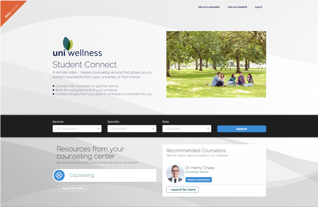 UniWellness_StudentConnect