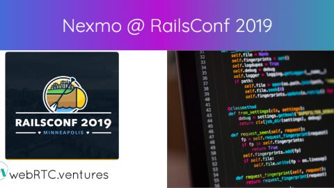 Nexmo @ RailsConf 2019