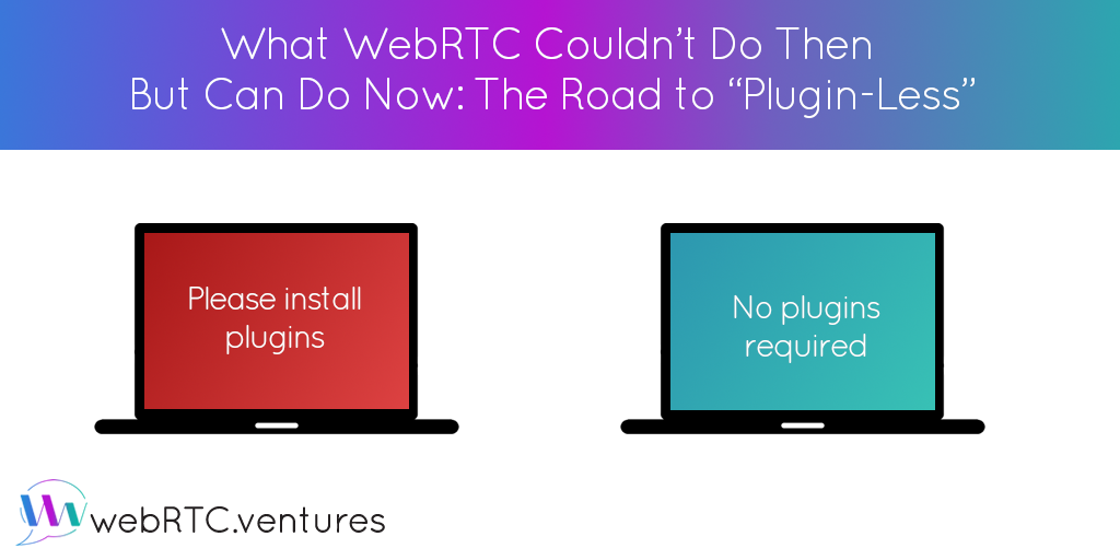What WebRTC Couldn't Do Then But Can Do Now: The Road to