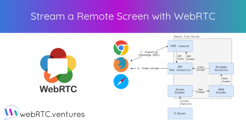 Stream a Remote Screen with WebRTC