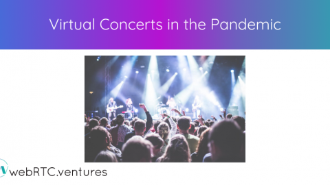 Virtual Concerts in the Pandemic