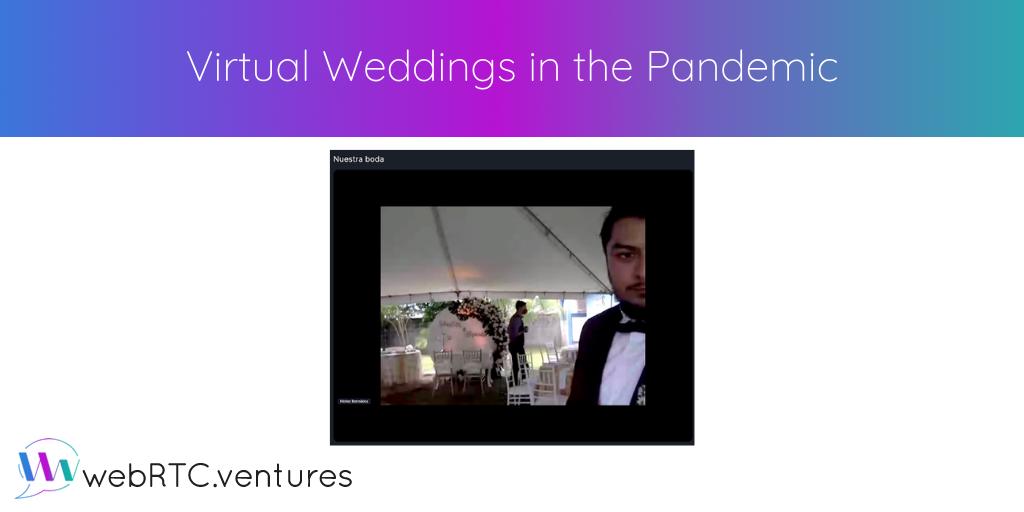 Virtual Weddings in the Pandemic