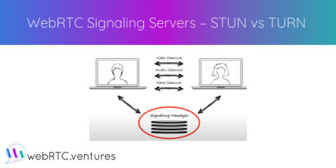 WebRTC Signaling Servers – STUN vs TURN