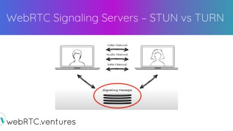 WebRTC Signaling Servers – STUN vs TURN