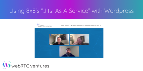 "Using 8×8's ""Jitsi As A Service"" with WordPress"