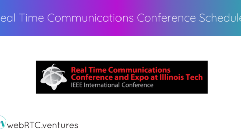 Real Time Communication Conference Schedule